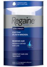 REGAINE - Regaine for Men Extra Strength Hair Regrowth Foam 3 x 60ml - GEGEN HAARAUSFALL