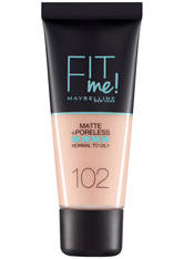 Maybelline Fit Me! Matte and Poreless Foundation 30ml (verschiedene Farbtöne) - 102 Fair Ivory