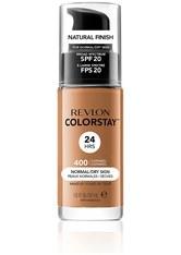 Revlon Colorstay Make-Up Foundation für normale-trockene Haut(Verschiedene Farbtöne) - Caramel