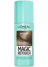 L'ORÉAL PARIS - L'Oréal Paris Magic Retouch Temporary Instant Root Concealer Spray 75ml (Various Shades) - Brown - Haarfarbe