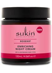 SUKIN - Sukin Rose Hip Enriching Night Cream 120ml - NACHTPFLEGE