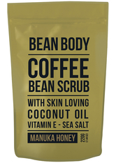 BEAN BODY - Bean Body Coffee Bean Scrub 220g - Manuka Honey - KÖRPERPEELING