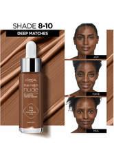 L'Oréal Paris Perfect Match nude Aufpolsterndes Getöntes Serum Getönte Gesichtscreme 30 ml Nr. 8-10 - sehr dunkel