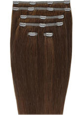 Beauty Works Double Hair Set 18 Inch Clip-In Hair Extensions (Various Shades) - Chocolate 4/6
