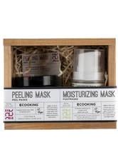 Peeling-Maske 50 ml. und Feuchtigkeitsmaske 50 ml.