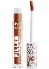 NYX Professional Makeup Filler Instinct Plumping Lip Polish 2.5ml (Various Shades) - New Money
