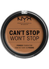 NYX Professional Makeup Can't Stop Won't Stop Full Coverage Powder Kompakt Foundation 10.7 g Nr. 16 - Mahogany