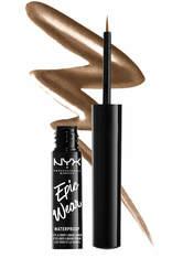 NYX Professional Makeup Epic Wear Metallic Liquid Liner 3.5ml (Various Shades) - Brown Metal