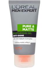 L'ORÉAL PARIS MEN EXPERT - L'Oréal Men Expert Pure & Matte Anti-Shine Moisturising Gel (50ml) - GESICHTSPFLEGE