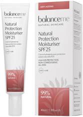 BALANCE ME - Balance Me Natural Protection Daily Moisturiser SPF 25 40 ml - TAGESPFLEGE