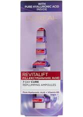 L'ORÉAL PARIS - L'Oréal Paris Revitalift Filler Replumping Hyaluronic Acid Ampoules Monthly Pack - Exclusive - Serum