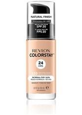 REVLON - Revlon Colorstay Make-Up Foundation für normale-trockene Haut(Verschiedene Farbtöne) - Natural Beige - FOUNDATION