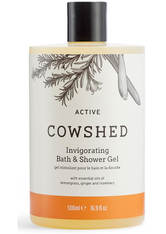COWSHED - Cowshed ACTIVE Invigorating Bath & Shower Gel 500ml - DUSCHEN & BADEN