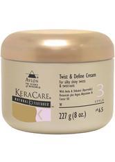 KeraCare Detangling Shampoo und Conditioner Duo mit Natural Textures Twist und Define Cream