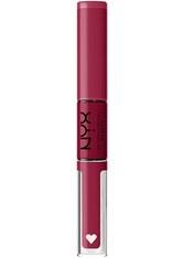 NYX Professional Makeup Shine Loud High Pigment Lip Shine Lipgloss  1 Stk Nr. SHLP16 - Goal Getter