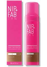 NIP+FAB - NIP+FAB Faux Tan Mousse 150ml - Cocoa - Selbstbräuner