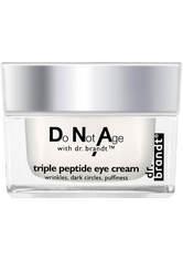Dr. Brandt Do Not AgewithDr. Brandt Triple-Peptid Augencreme (15 g)