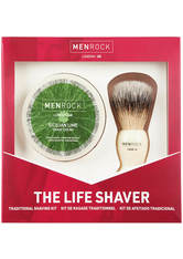 Men Rock The Life Shaver (Sicilian Lime Shave Cream, The Brush)