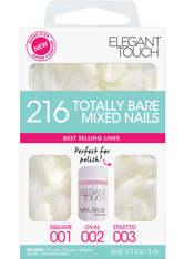 ELEGANT TOUCH - Elegant Touch Total Bare Nails Bumper Kit- normales gemischtesSet (Stiletto / Oval / Quadrat) - KUNSTNÄGEL