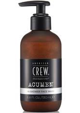 American Crew Acumen In-Shower Face Wash 190 ml Reinigungsemulsion