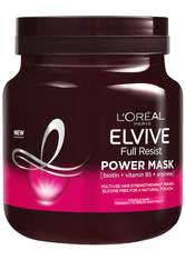 L'Oréal Elvive Full Resist Fragile Hair Multi-Use Hair Strengthening Power Mask with Biotin for Hair Fall 680ml