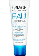 URIAGE - URIAGE Eau Thermale Rich Water SPF 20 Gesichtscreme  40 ml - Tagespflege