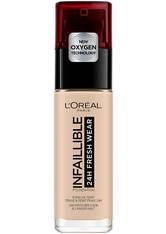 L'Oréal Paris Infallible 24hr Freshwear Liquid Foundation (Various Shades) - 015 Porcelaine