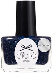 Ciaté London Gelology Mini Nail Varnish - Midnight in Paris 5ml
