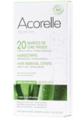 Acorelle Ready to Use Aloe Vera and Beeswax Underarms and Bikini Strips – 20 Streifen - ACORELLE