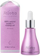 THE JOJOBA COMPANY - The Jojoba Company 100% Natural Jojoba & Rosehip Oil 30 ml - GESICHTSÖL