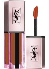 Yves Saint Laurent Rouge Pur Couture Vernis à Levres Water Stain Glow Liquid Lipstick 6 ml Nr. 214 - Illicit Orange