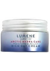 Lumene Gesichtspflege ARCTIC HYDRA CARE [ARKTIS] Moisture & Relief Rich Day Cream Gesichtscreme 50.0 ml