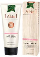 A'KIN - A'Kin Unparfümierte Intensive Hand Nagel & Nagelhaut Treatment (75ml) - NAGELPFLEGE
