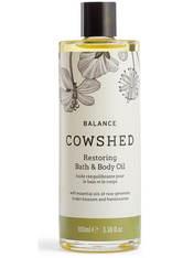 Cowshed Balance Restoring Bath & Body Oil 100 ml - Baden
