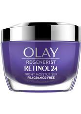 OLAZ - Olay Retinol 24 Fragrance Free Night Face Cream for Smooth and Glowing Skin 50ml - Nachtpflege
