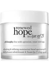 PHILOSOPHY - philosophy Renewed Hope in a Jar SPF25 Moisturiser 60 ml - TAGESPFLEGE