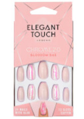 ELEGANT TOUCH - Elegant Touch Chrome 2.0 Nails - Blossom Bae - KUNSTNÄGEL