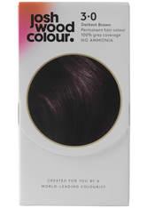 JOSH WOOD COLOUR - Josh Wood Colour 3 Darkest Brown Colour Kit - HAARFARBE