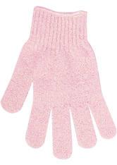 INVOGUE Produkte Brushworks - Exfoliating Gloves - Pink Peelinghandschuh 1.0 pieces