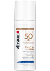 Ultrasun SPF50+ Tinted Face Sun Cream (verschiedene Farbtöne) - Honey