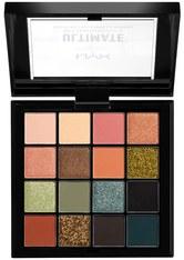 NYX Professional Makeup Ultimate Shadow Palette Lidschatten Palette 13.3 g Nr. 16 - Utopia