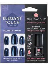 ELEGANT TOUCH - Elegant Touch Nail Saviour - Deepest Sapphire - Kunstnägel