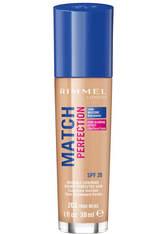 Rimmel Match Perfection Foundation 30ml 203 True Beige (Medium, Neutral)