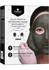 SHANGPREE - SHANGPREE Black Premium Modeling Mask with Bowl and Spatula 50 ml - TUCHMASKEN