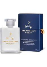 Aromatherapy Associates - Support Breathe Bath And Shower Oil, 55 Ml – Dusch- Und Badeöl - one size