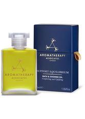 Aromatherapy Associates - Support Equilibrium Bath And Shower Oil, 55 Ml – Dusch- Und Badeöl - one size