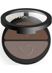 INIKA Organic Pressed Mineral Duo Lidschatten Palette 3.9 g Choc Coffee