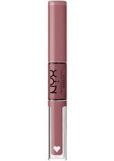 NYX Professional Makeup Shine Loud High Pigment Lip Shine Lipgloss  1 Stk Nr. SHLP08 - Overnight Hero