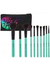 BH COSMETICS - Aurora Lights 10 Piece Brush Set & Cosmetics Bag - MAKEUP PINSEL