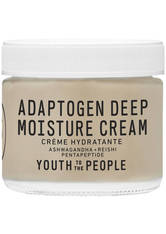 YOUTH TO THE PEOPLE - YOUTH TO THE PEOPLE Adaptogen Deep Moisture Cream 59 ml - TAGESPFLEGE